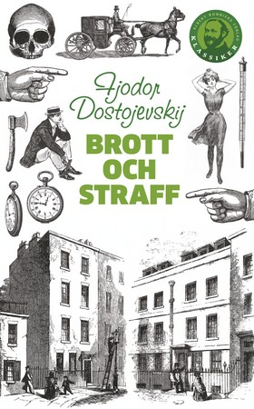 Bokomslag till Brott och straff av Fjodor Dostojevskij
