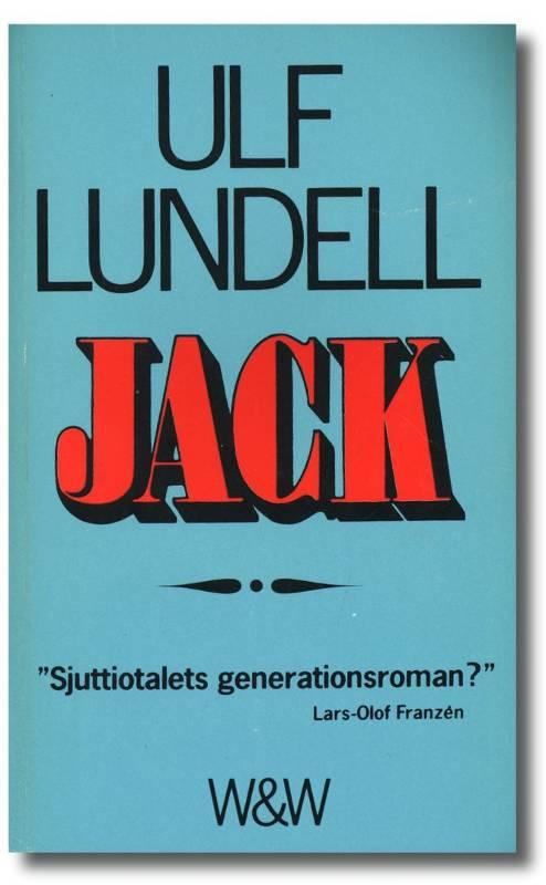 Bokomslaget till Ulf Lundells Jack