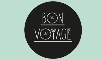 Logotyp för Bon Voyage Designbyrå i Malmö