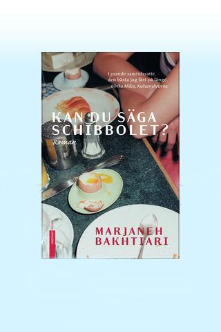 Omslaget till boken kan du säga schibbolet