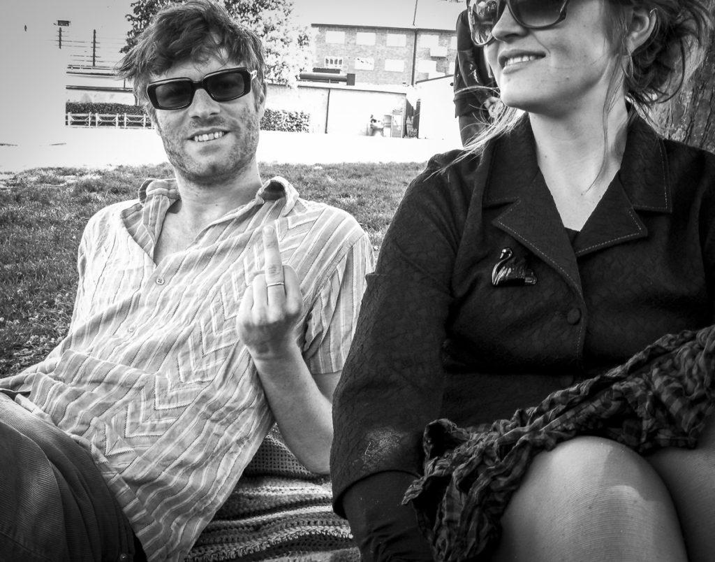 Henrik och Anna-Karin i Folketspark