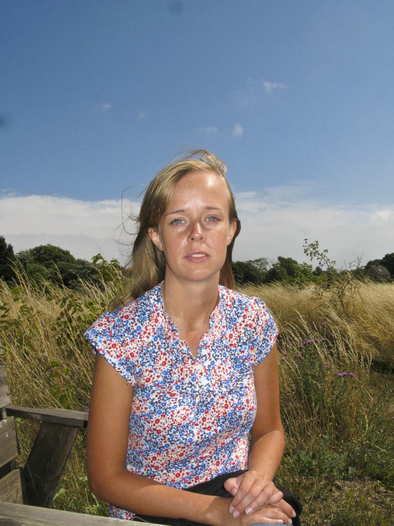 Johanna Blomgren en sommar
