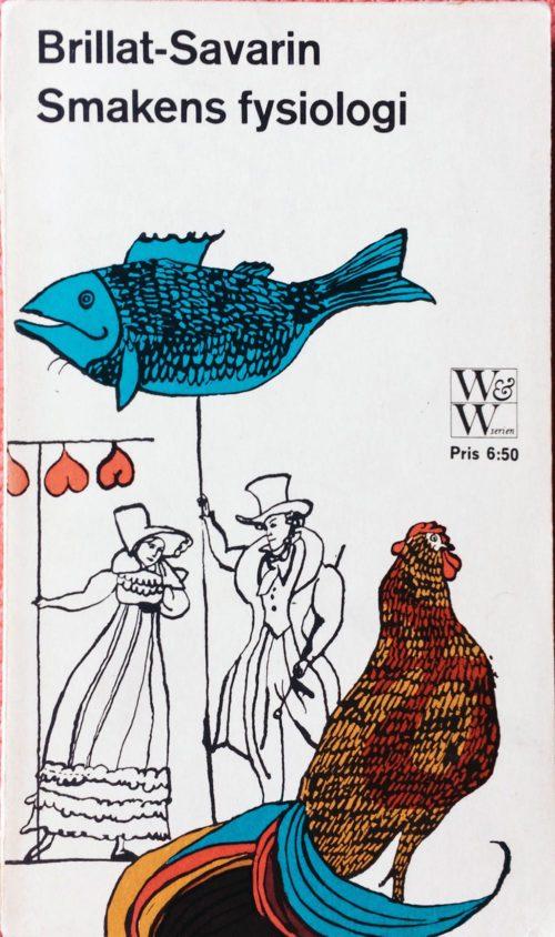 Färgglad fisk och tupp