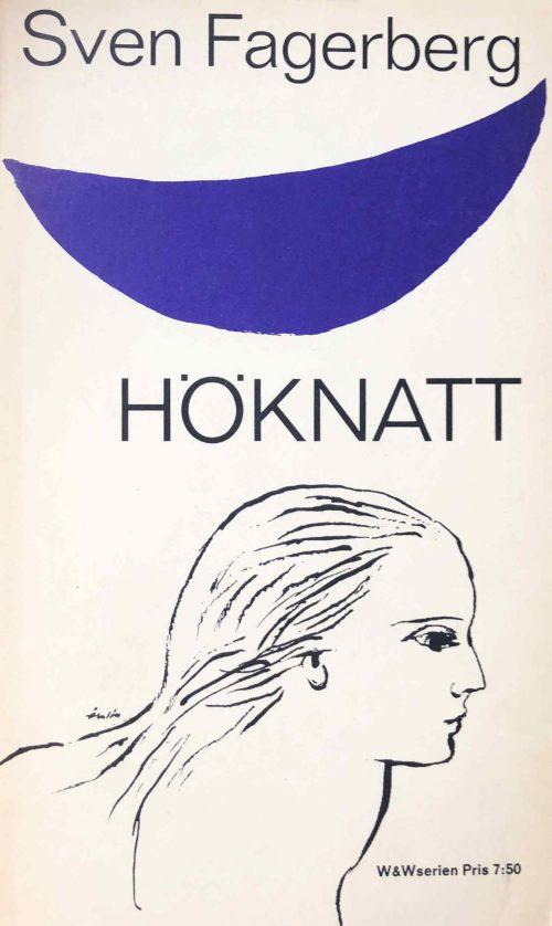 Illustration av kvinna i profil