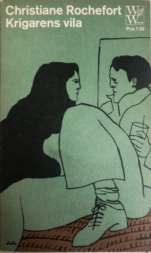 Ung kvinna och och ung man på fest