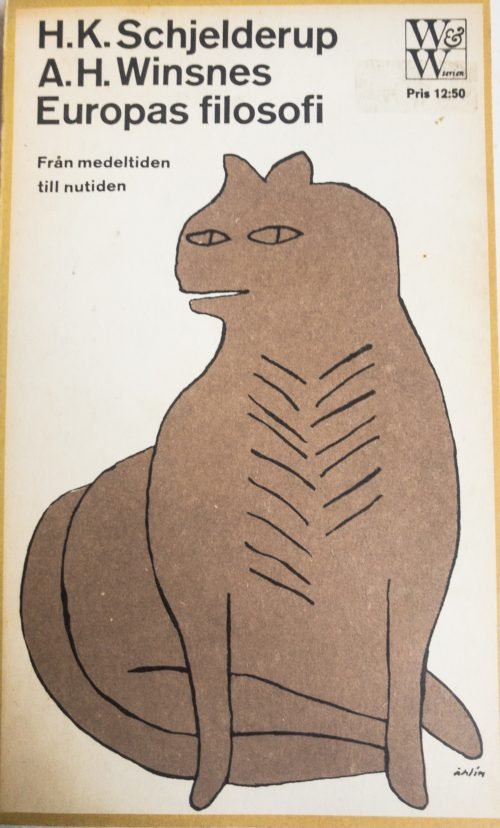 Illustration av en förhistorisk katt