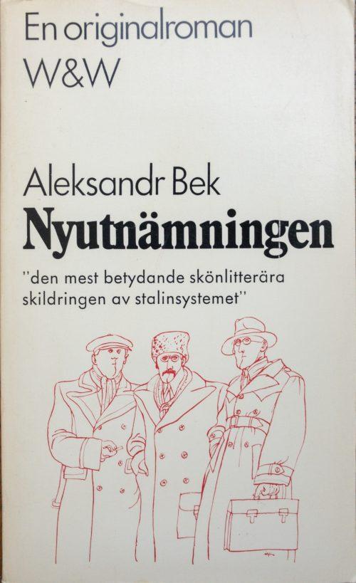 Tre illustrerade ryska män i vinterkappor