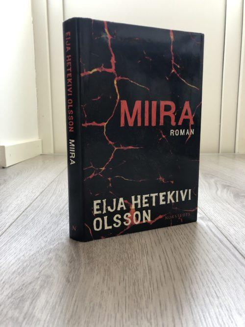 Bokomslag till Eija Hetekivi Olssons bok Miira